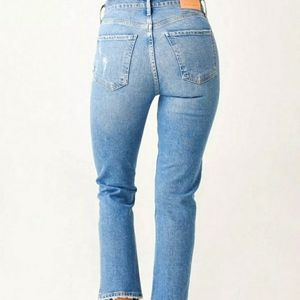 Citizens Of Humanity Charlotte Crop Jeans High Rise Size 29 Button Fly